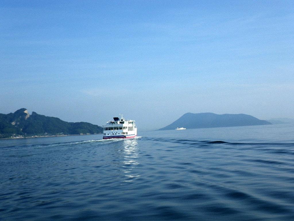 さぬき広島沖まで帰る