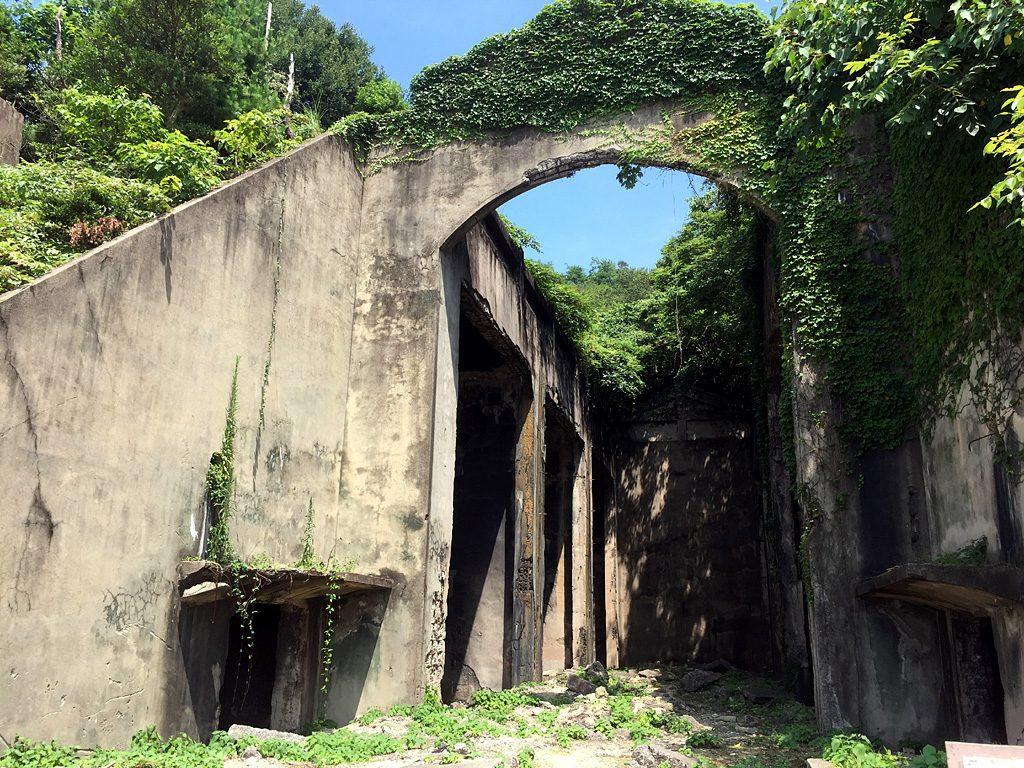 大久野島の毒ガス施設