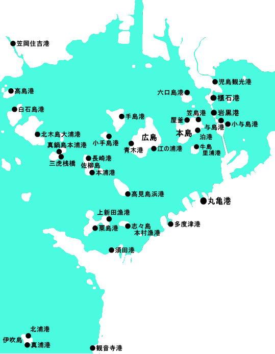 香川県西部沖マップ