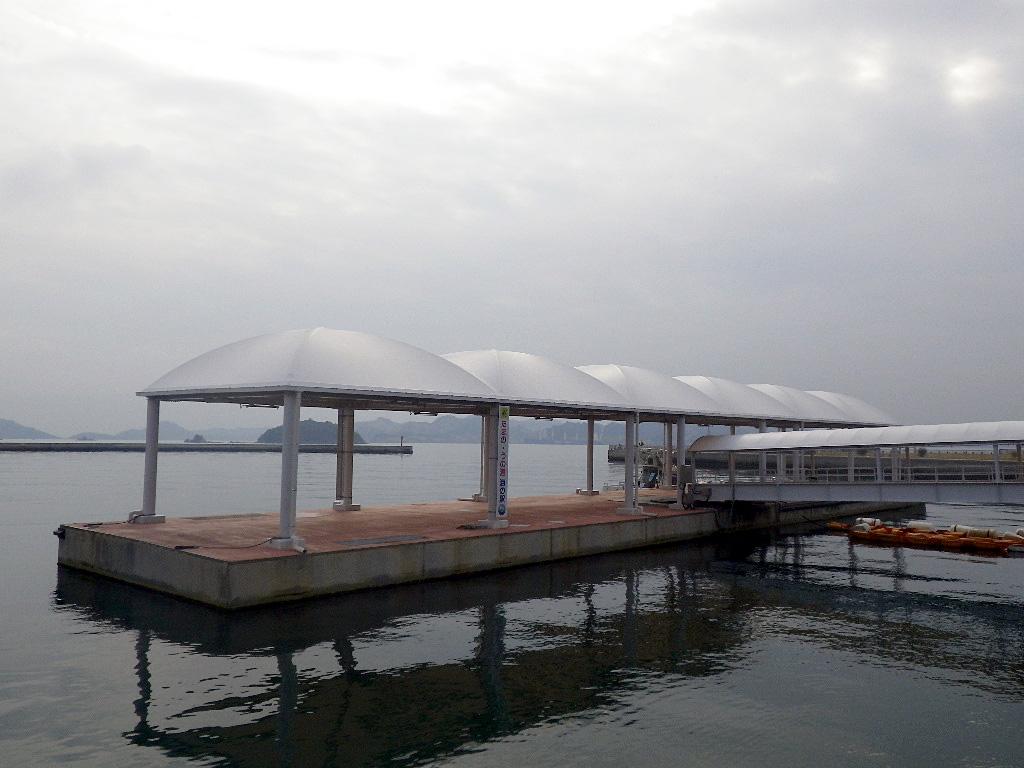 宇野港桟橋