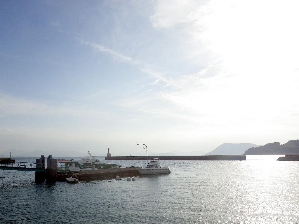 讃岐広島 江の浦港