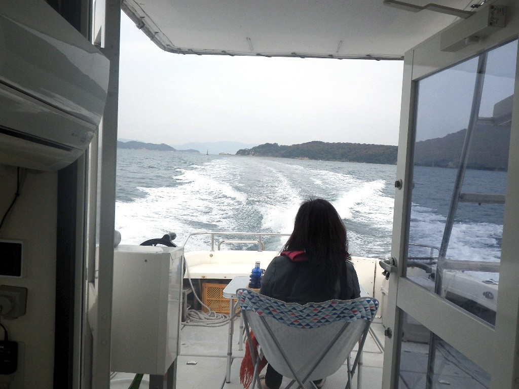 瀬戸内海での散骨