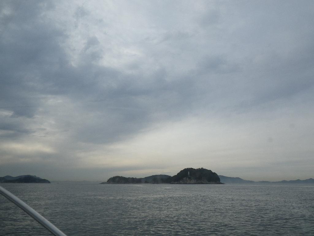 小豆島を後にして高松港へ
