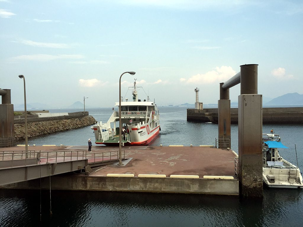 高見島浜港