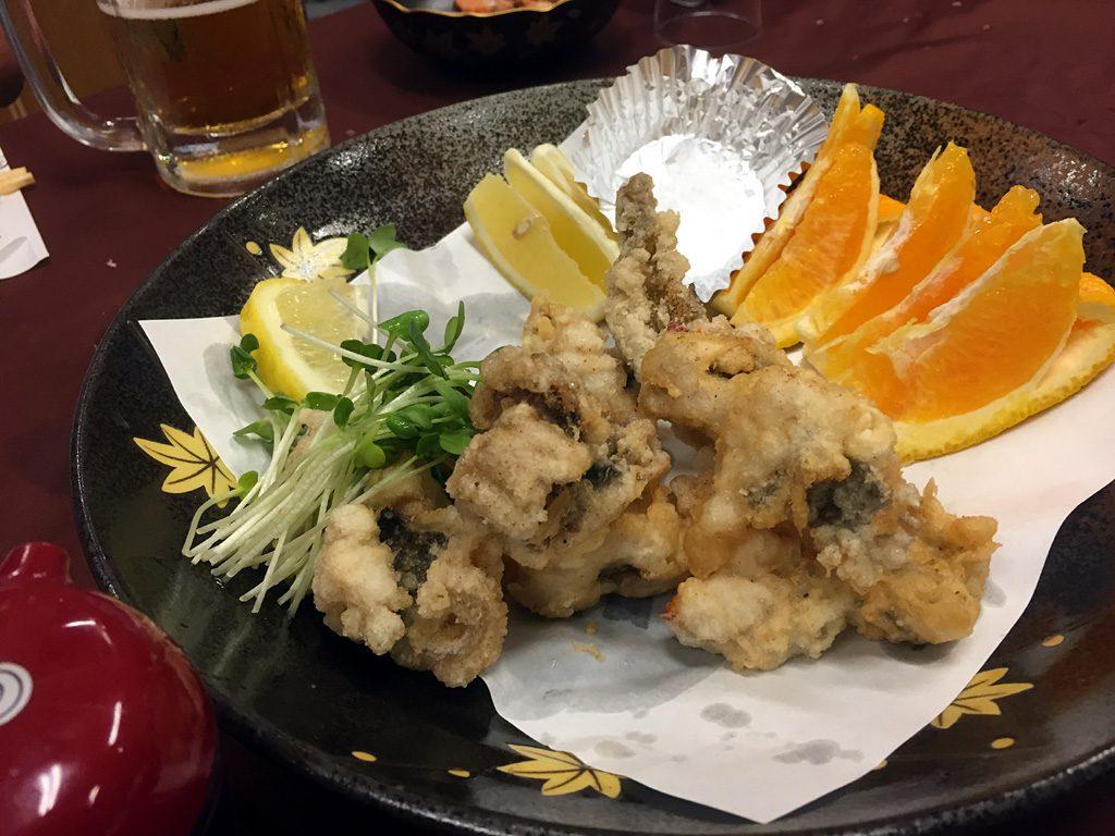 島宿三虎の料理