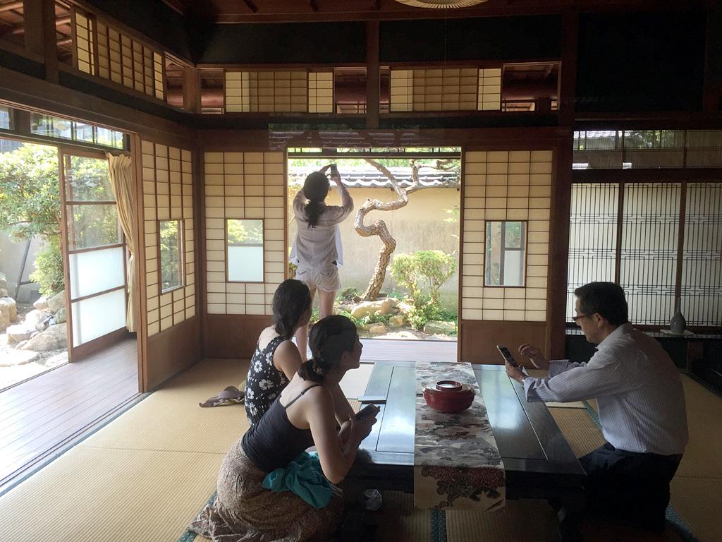 本島笠島の吉田邸